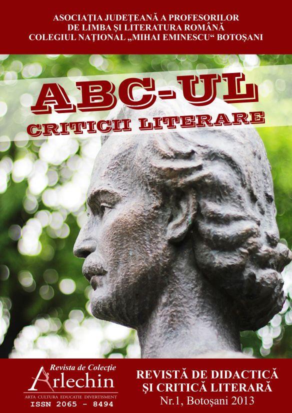 ABC-UL CRITICII LITERARE