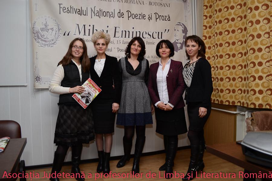 Zilele Eminescu - Asociatia Judeteana a Profesorilor de Limba si Literatura Romana Botosani--11